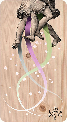 Tarot Karten - 6. The Lovers