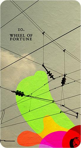 Tarot Karten - 10. Wheel of fortune
