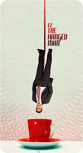 Tarot Karten - 12. The Hanged Man