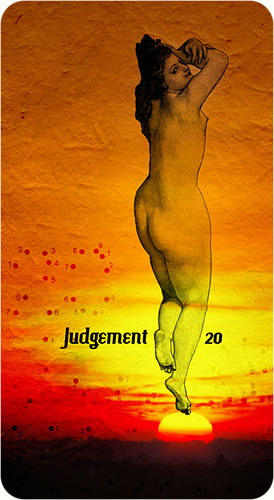 Tarot Karten - 20. Judgement