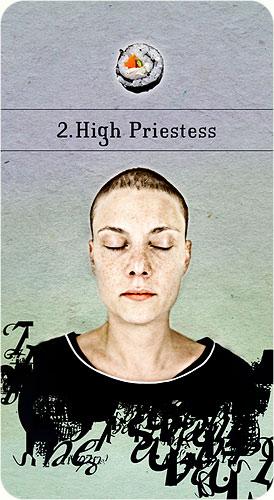 Tarot Karten - 2. High Priestess