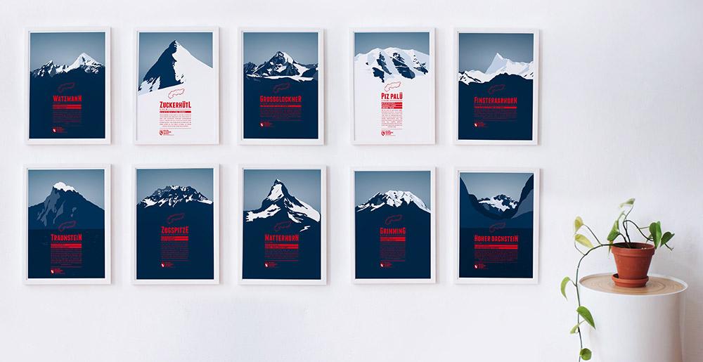 Bergplakate Marmotamaps