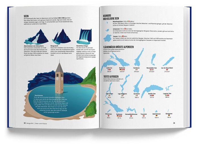 Alpenbuch vom Marmota Maps – Seen